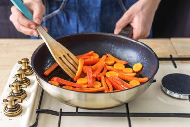 Stir-Fry the Veggies