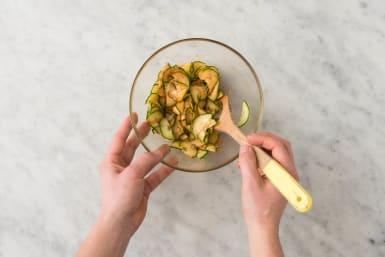 Pickle Cucumbers and Make Crema