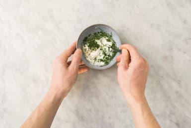 Make the dill yoghurt