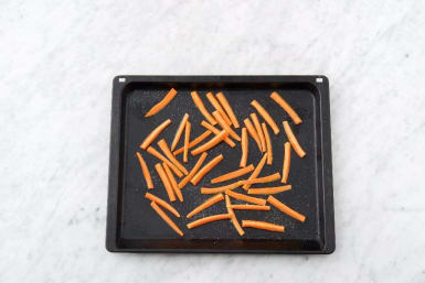 Prep Veggies and Roast Carrots