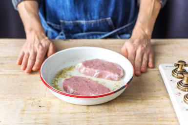 Marinate the Pork
