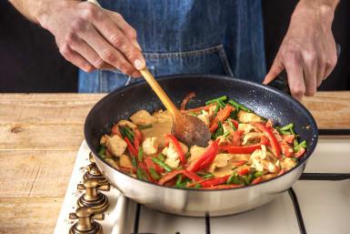 Stir-Fry the Chicken