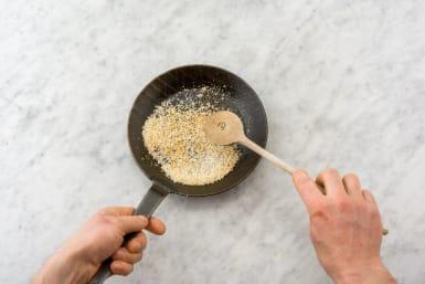 Toast Panko and Fluff Quinoa