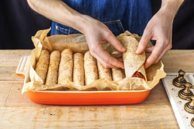 Bake the Enchiladas