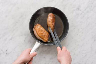 Prep and Cook Duck