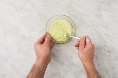 MAKE THE AVOCADO CREMA