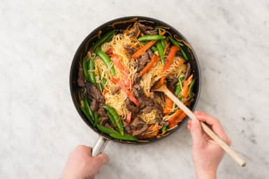 5 FINISH STIR-FRY