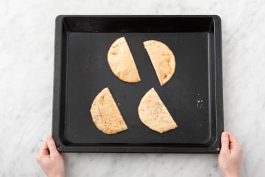 Toast Pitas