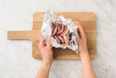 Cook Shallots and Onion