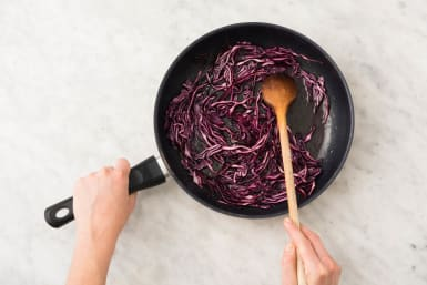 2 COOK CABBAGE