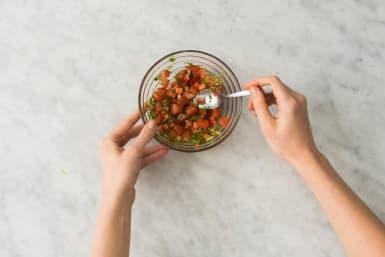 Cook Rice and Make Salsa
