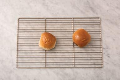Heat the buns
