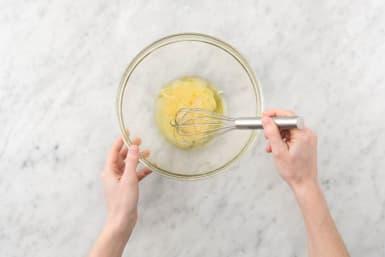 Cook Pancetta and Prep Salad