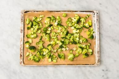 Broccoli in de oven