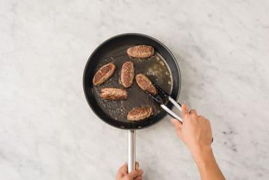 Cook the koftas
