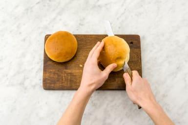 BURGERBRÖTCHEN toasten
