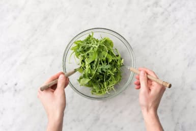 Finish and Toss Salad