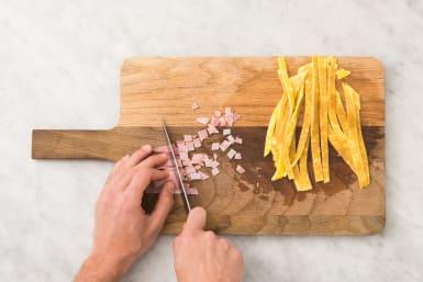 Bakken en snijden