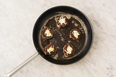 Cook the rissoles