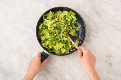 Koken en groenten bakken
