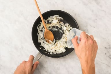 Prep and Cook Onion