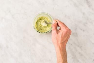 Make Garlic Herb Butter