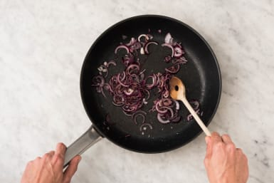 1 COOK ONIONS