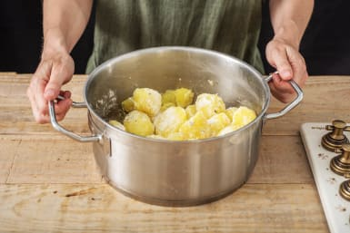 Crisp those Potatoes