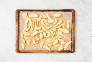 Préparer les pommes de terre