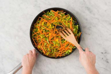 Sauter les légumes