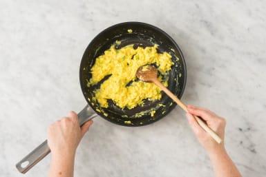 Préparer les œufs brouillés