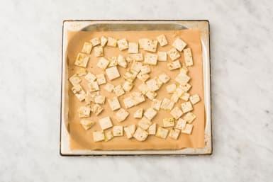 Bake the pita