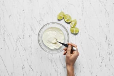 Make Lime Crema
