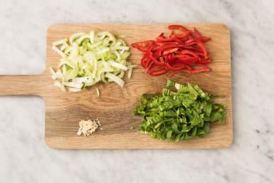 Koken en snijden