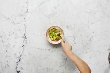 Slice and Mash Avocado