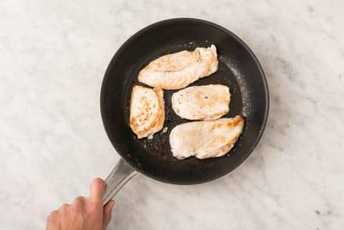 Prepare the chicken