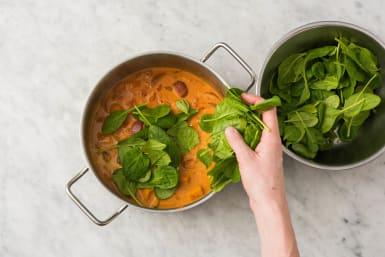 Curry fertigstellen