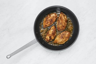 Cook Chicken and Sauce