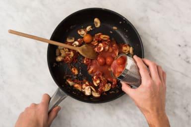 Tomatensaus maken