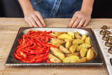 Add the Red Pepper