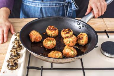 Fry the Meatballs
