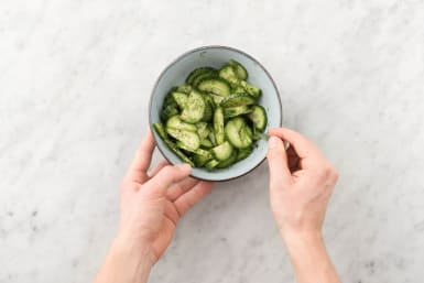 Make Cucumber Salad