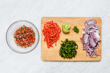 Prep and Make Salsa