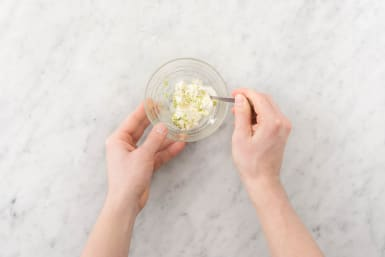 Make Crema and Finish Rice