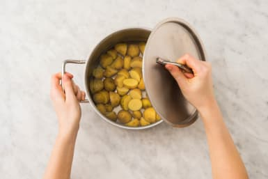 Aardappeltjes voorkoken