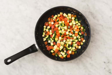 Groenten bakken
