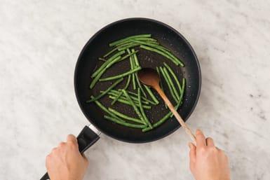 Cook greens