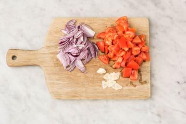 Für die Tomatensauce