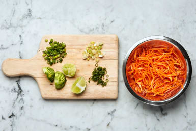 Prep and Pickle Carrots