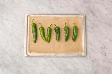 Pepers bakken